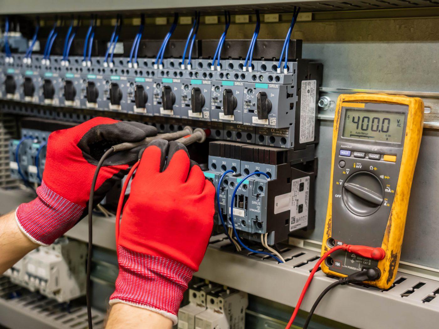controleur electrique diag immo